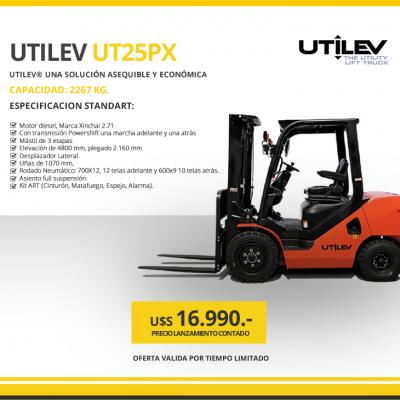 UTILEV MODELO UT25PX