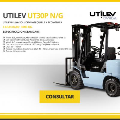 UTILEV MODELO UT30P N/G